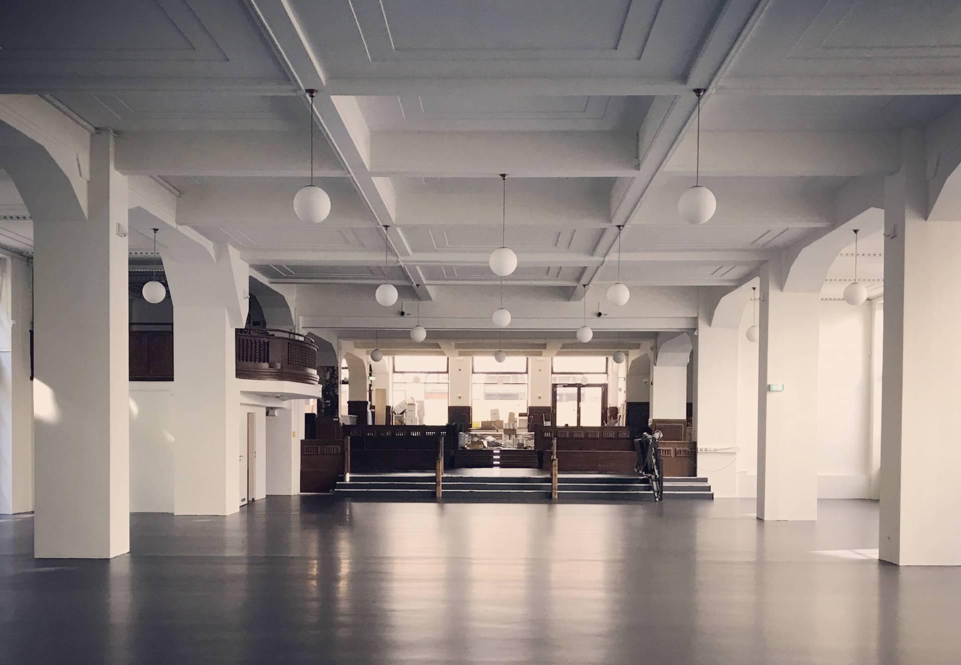 Umbau Kupfersaal August 2017 (Umbau zum Kupfersaal, Blick zur Kupfergasse)