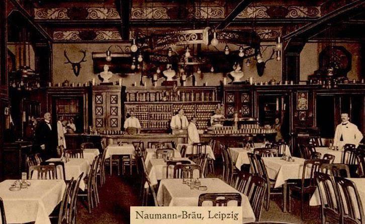 Naumann-Bräu, Dresdner Hof (Bierausschank im Naumann-Bräu um 1930)